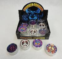"2"" Tobacco Grinder [Peace Sign]"